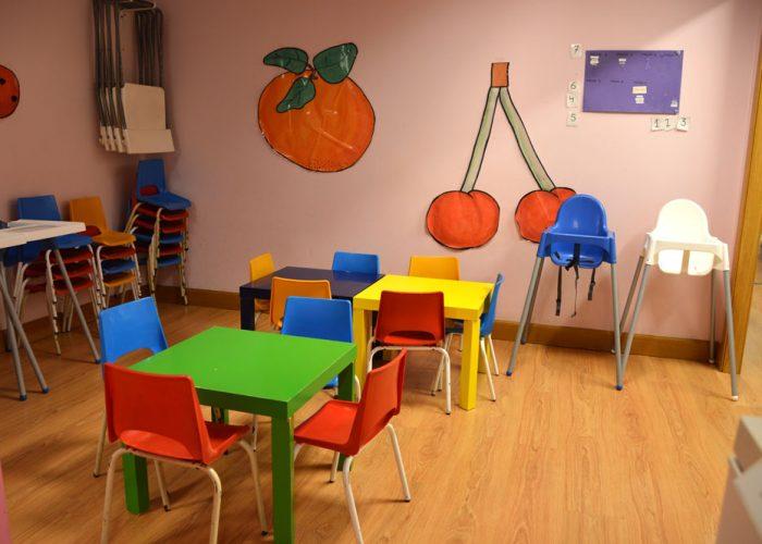 Comedor de la escuela Kilkir